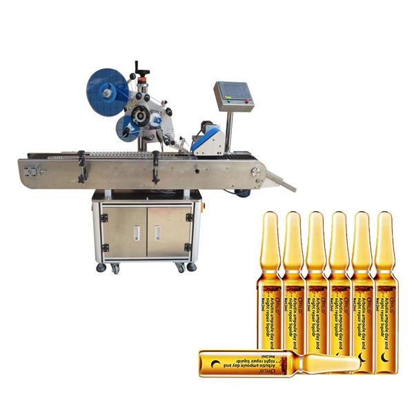 Ampulių etikečių klijavimo mašina