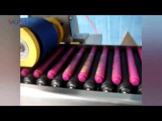 Automatinė pieštukų lipnių balzamo lazdelių etikečių klijavimo mašina