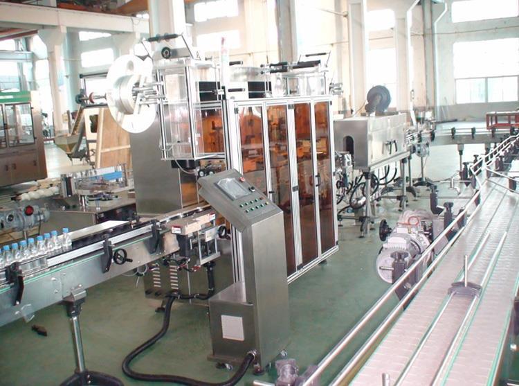 Automatinė dvigubos galvos šilumos PVC etikečių susitraukimo rankovių ženklinimo mašina