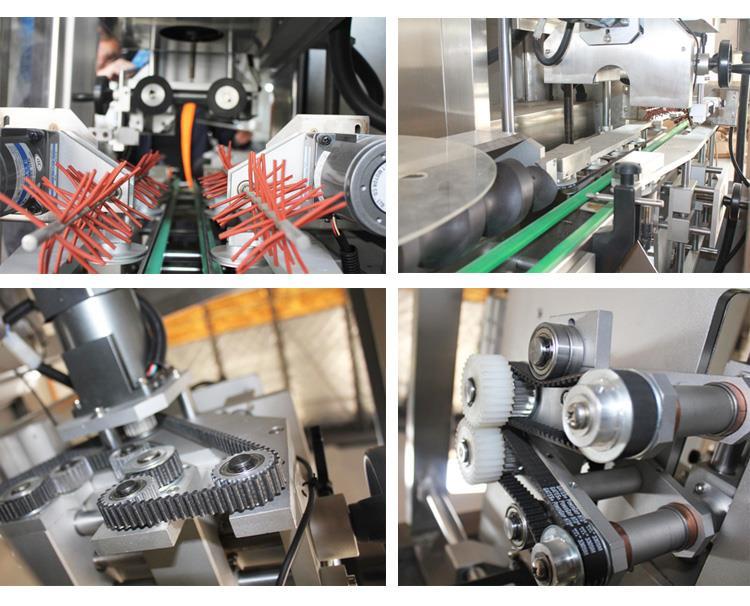 Automatinė skysto vandens sulčių arbatos gėrimo PVC rankovių susitraukimo ženklinimo mašina