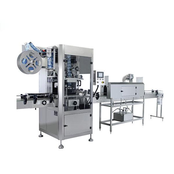 Automatinė butelių PVC rankovių susitraukimo ženklinimo mašina