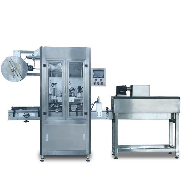 Automatinė plastikinė vandens sulčių butelio PVC šilumos susitraukimo ženklinimo mašina