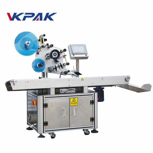Automatinė viršutinio paviršiaus plokštumos klijų lyginimo etikečių klijavimo mašina
