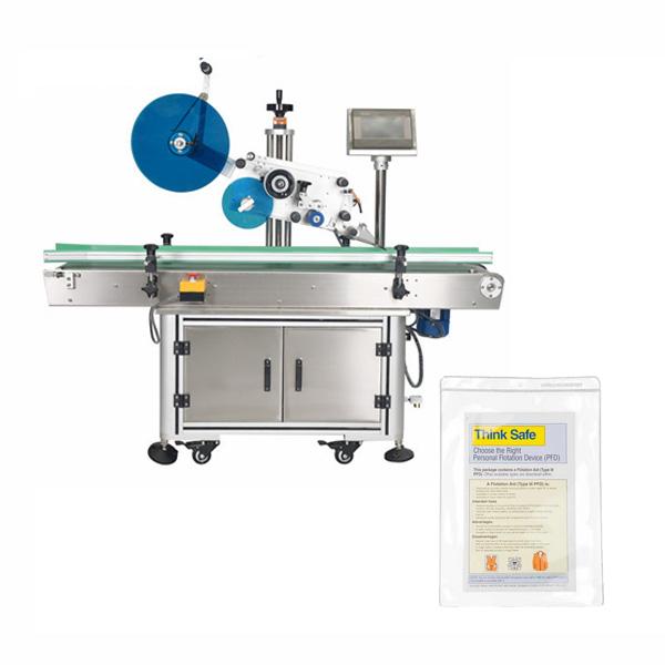 Maišelių etikečių klijavimo mašina