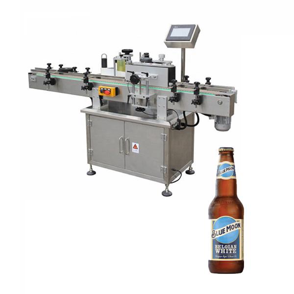 Alaus butelių etikečių klijavimo mašina