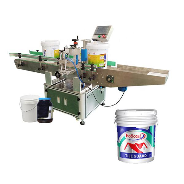 Kaušo etikečių klijavimo mašina