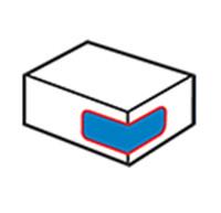 Dėžutės kampo etiketė 1