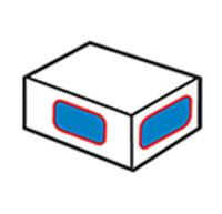 Dėžutės kampo etiketė 2