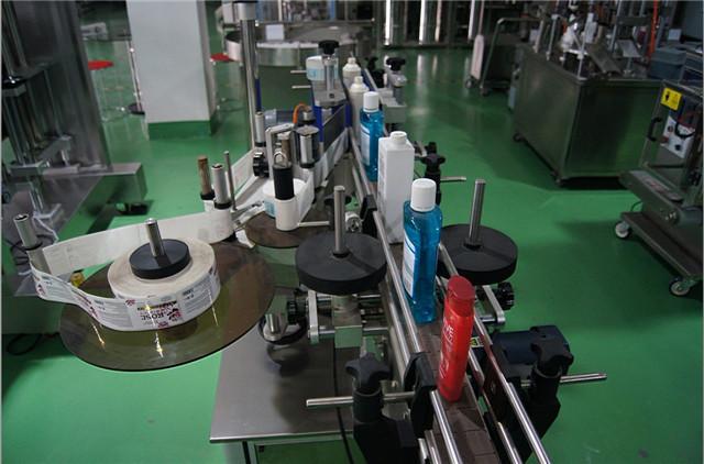 Vertikalių apvalių butelių etikečių automatikos konfigūracija