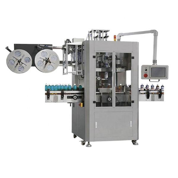 Didelio greičio visiškai automatinio susitraukimo rankovių etikečių klijavimo mašina