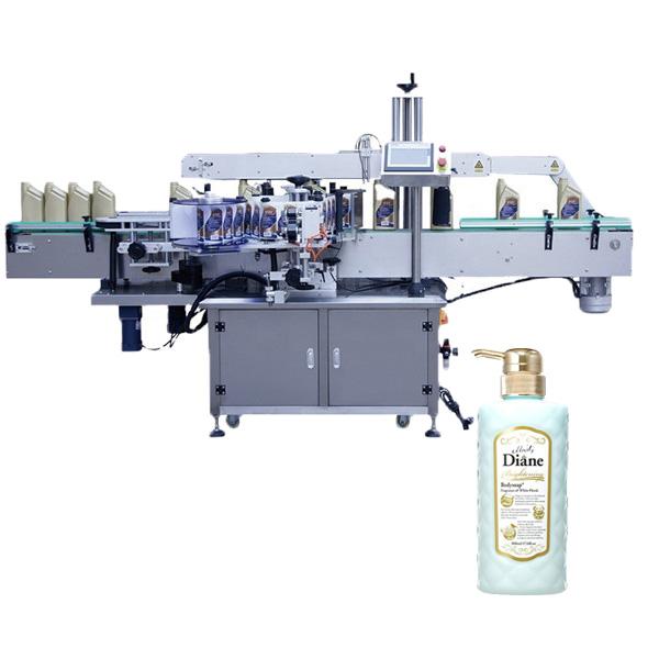 Ovalių butelių etikečių klijavimo mašina