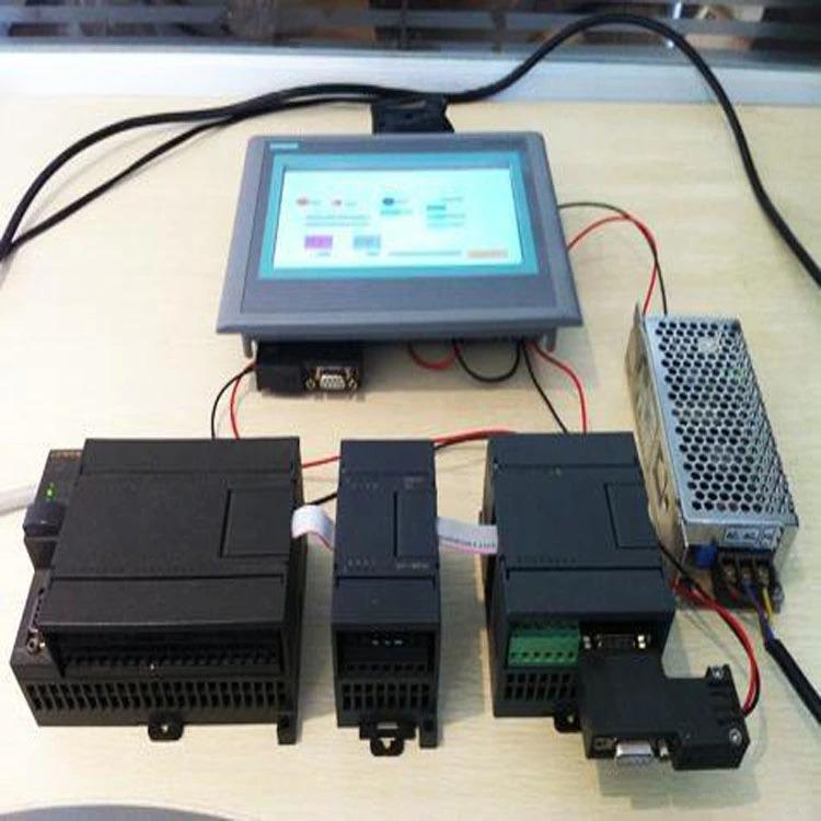 PLC ir jutiklinis ekranas