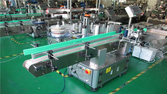 Apvalių butelių etikečių klijavimo mašinos