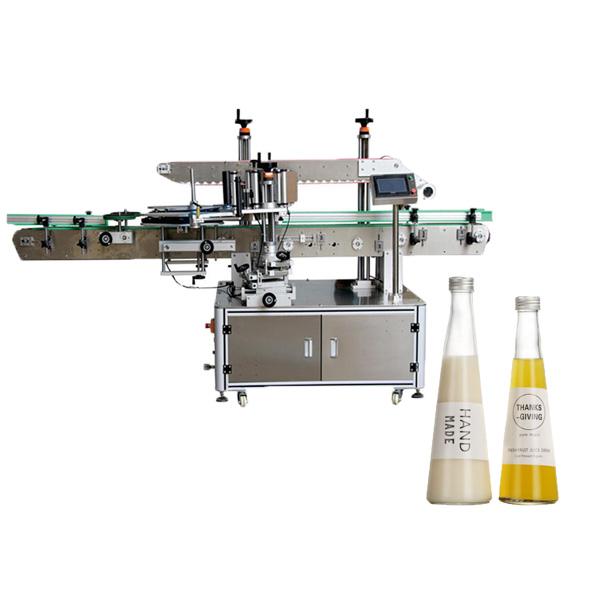 Kūginė butelių etikečių klijavimo mašina