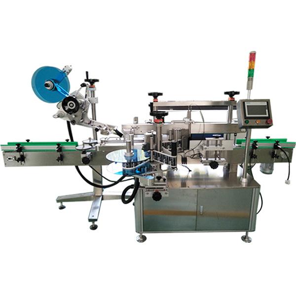 Viršutinių, priekinių ir galinių šonų etikečių klijavimo mašina